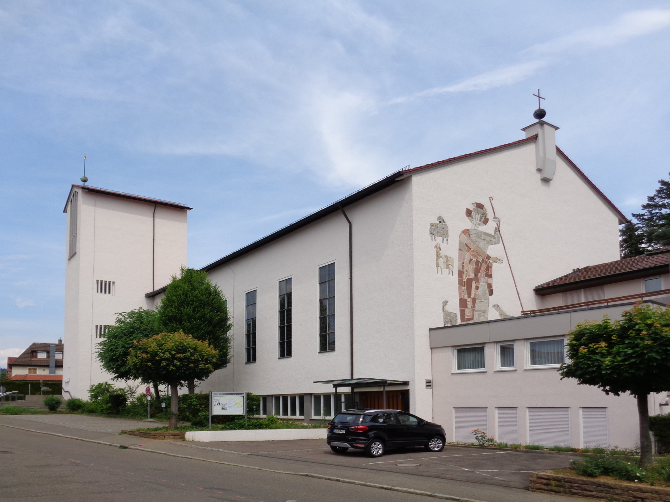Kirchenansicht St. Andreas Endersbach