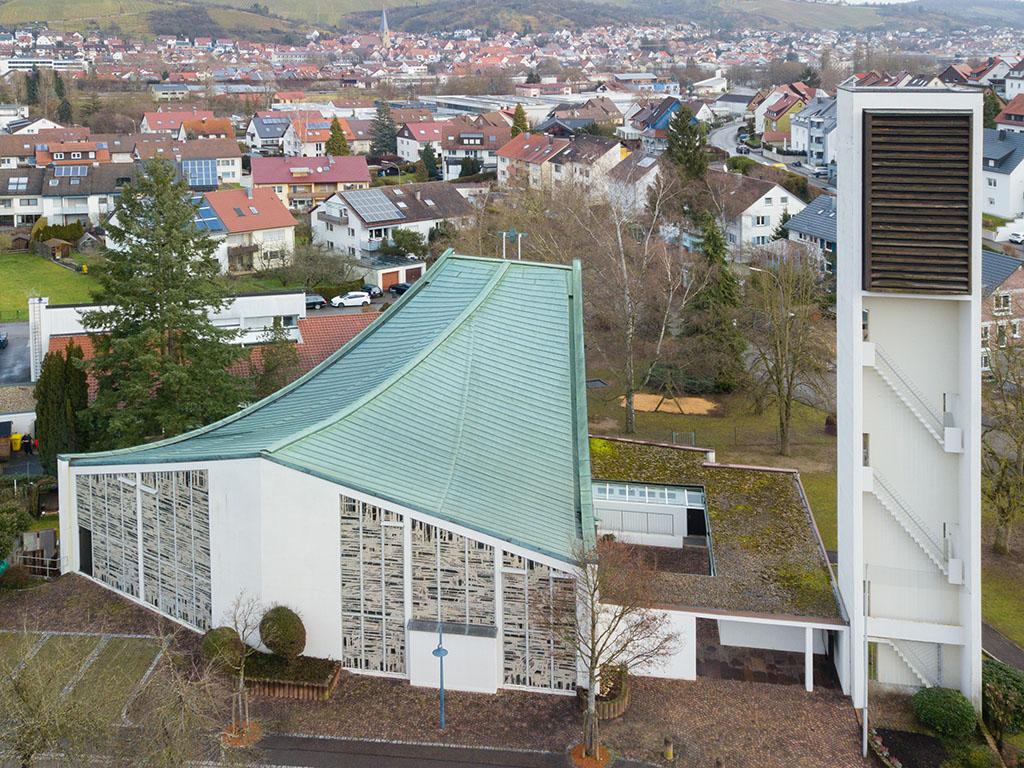 Kirchenansicht St. Elisabeth, Geradstetten